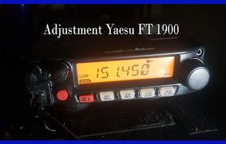 Adjustment Yaesu FT 1900
