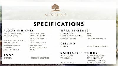 wisteria jual rumah baru