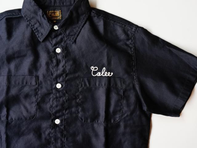 CALEE/キャリー S/S MOLESKIN EMBROIDERY SHIRT トランプススタッフブログ