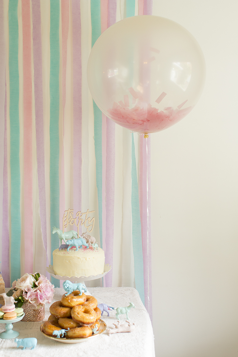 Pastel Birthday Party