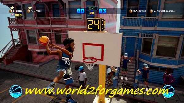 تحميل لعبة NBA 2K Playgrounds 2 للكمبيوتر
