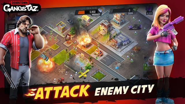 Downtown Gangstaz Hood Wars Hileli APK