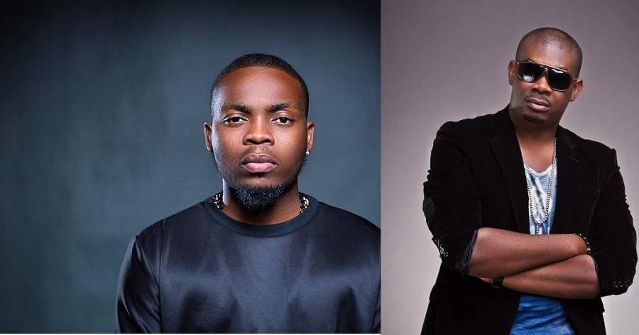 Drama as Olamide and Don Jazzy fight eachother at Headies awards