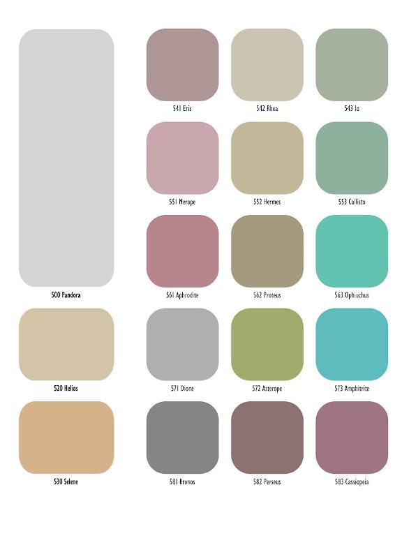 Vitex Metallico χρωματολόγειο