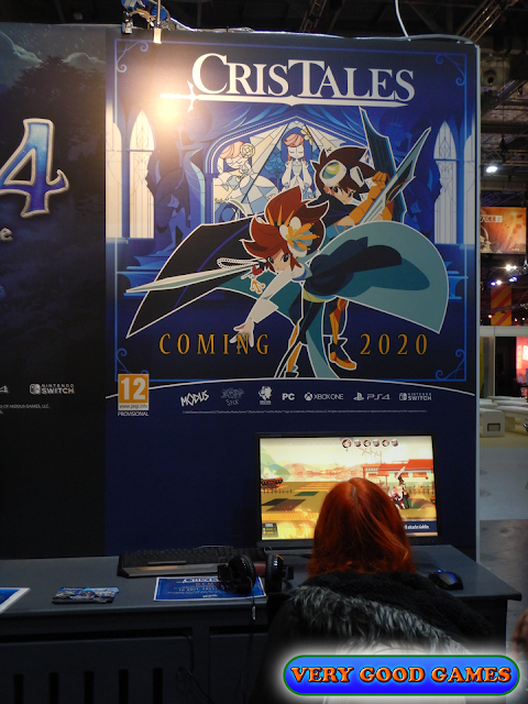 Photo report from the gaming event EGX 2019 in London - the game Cris Tales