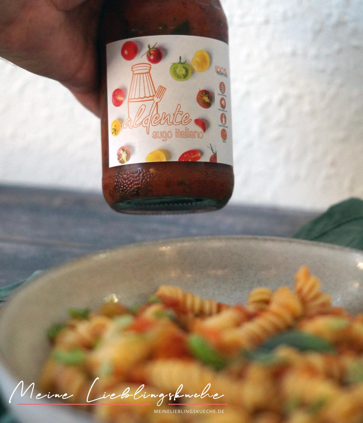 Pasta Saucen von aldente Sugo italiano