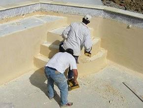 Construction d une piscine en b ton monobloc - Enduit etanche pour piscine ...