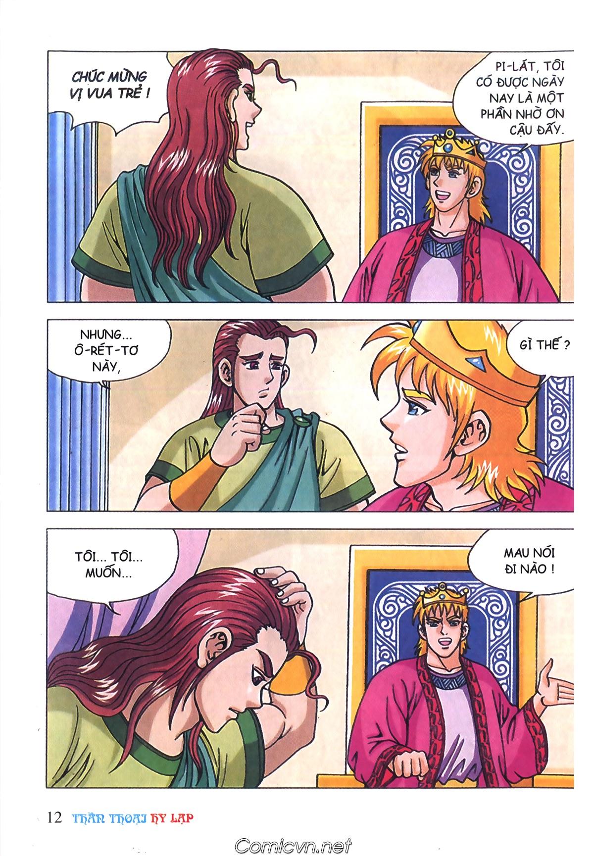 Thần Thoại Hy Lạp Màu - Chapter 72: Phán quyết của Nữ thần Athena - Pic 11