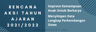 Rencana aksi tahun ajaran 2021/2022