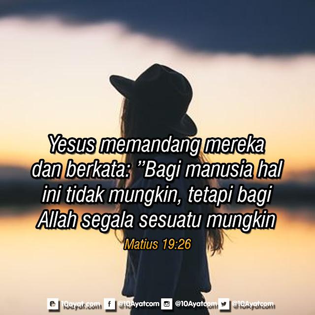 Matius 19:26