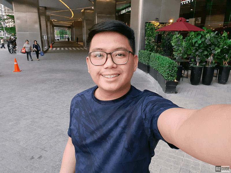 A30s daylight selfie