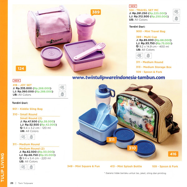 New Product 2016, Joy Set, Travel Set MC