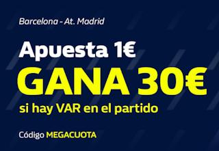 william hill megacuota Barcelona vs Atletico 30-6-2020