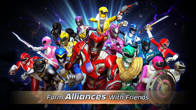 Free Download Power Rangers: Legacy Wars MOD APK Versi Terbaru v1.1.0 Unlimited Money for Android