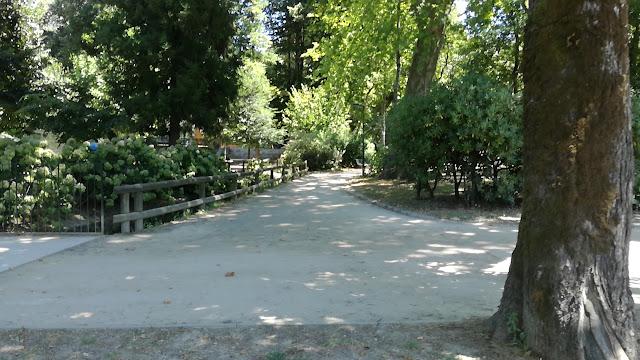 Parque das Taipas interior