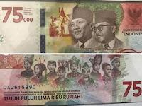 Viral, Heboh Penampakan Uang Baru Sambut Kemerdekaan RI ke-75 Tahun