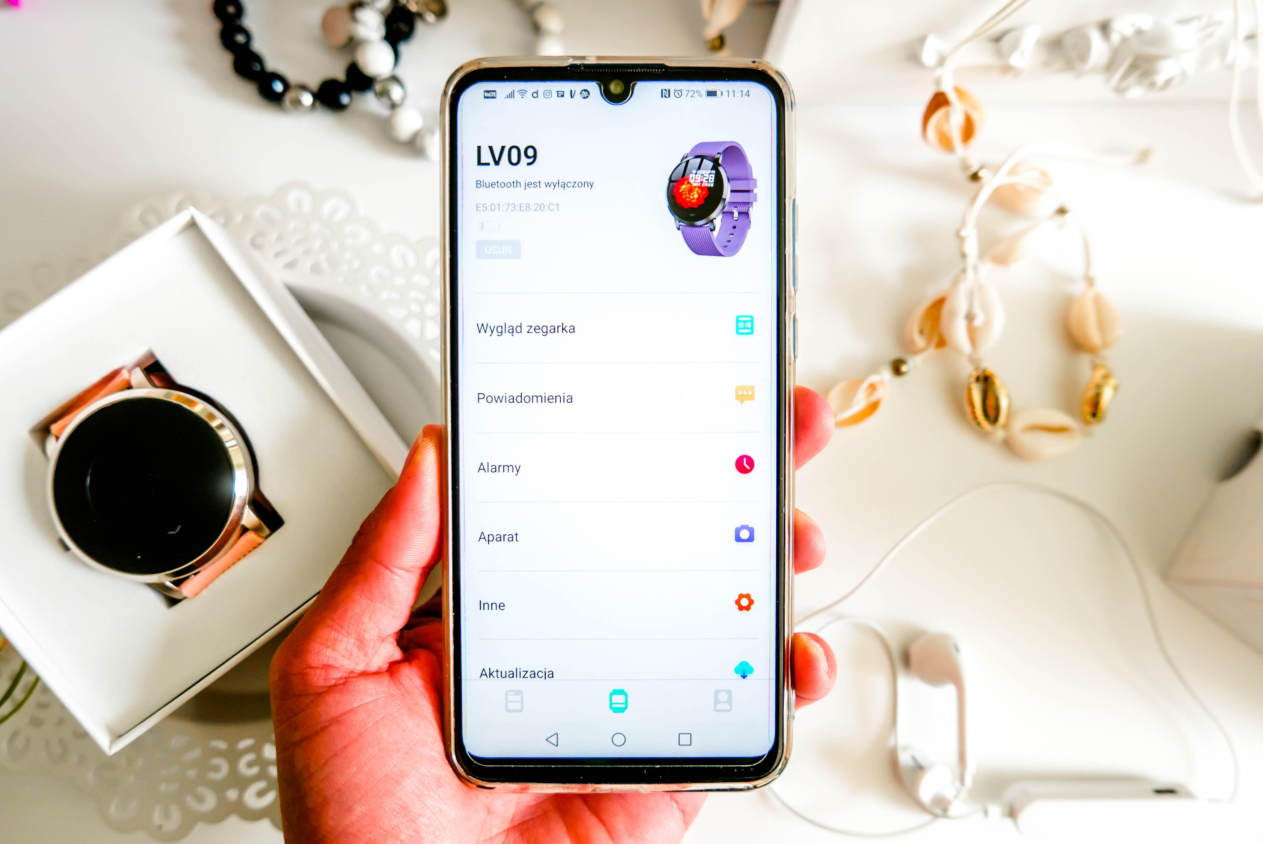 aplikacja do Smartwatch Bakeey LV09