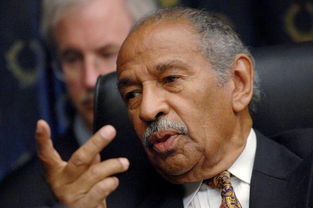John Conyers: Longest-serving black congressman dies aged 90