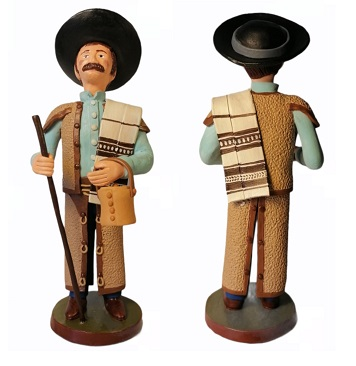 Carlos Alves e o pastor de tarro e manta