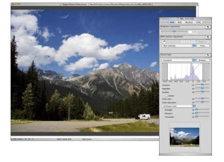 Mengkonversi gambar RAW dengan Digital Photo Canon EOS-1D Professional Ver.3.11 -3,14 (Macintosh)
