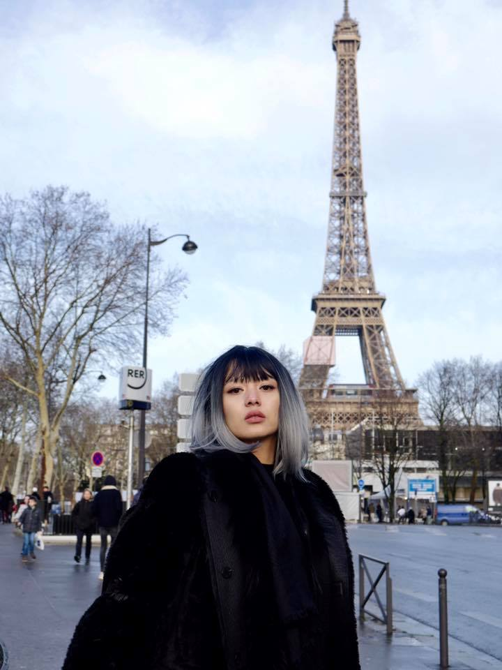 Shwe Mhone Yati First Vacation in 2018 is to Paris