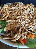 up coffee minneapolis spicy thai peanut salad mariannes kitchen