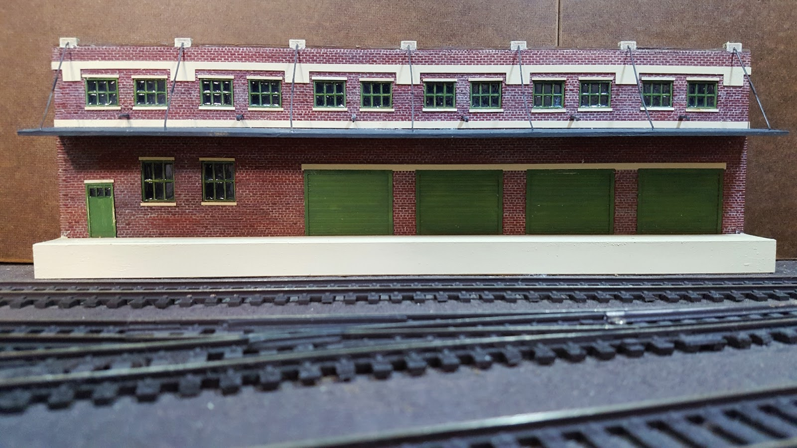 Tom's Model Railroad Scrapbook: Current Structure Projects