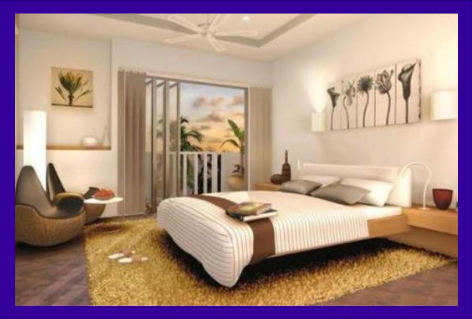 desain kamar tidur modern minimalis yang nyaman luas - desain rumah