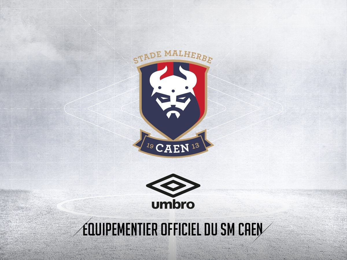 New SM Caen Logo Revealed + Umbro Kit Deal Announced