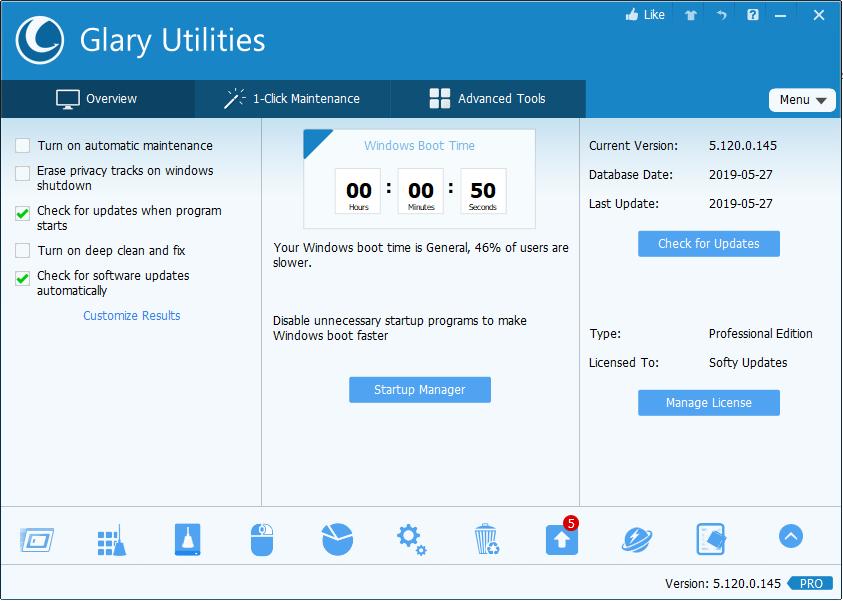 Glary Utilities 5.121.0.146