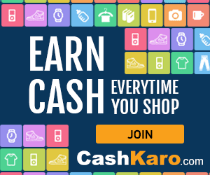 Cashkaro Cashback Offer Deal Of The Day