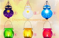 Test: Elige una lámpara y recibe un mensaje mágico ��