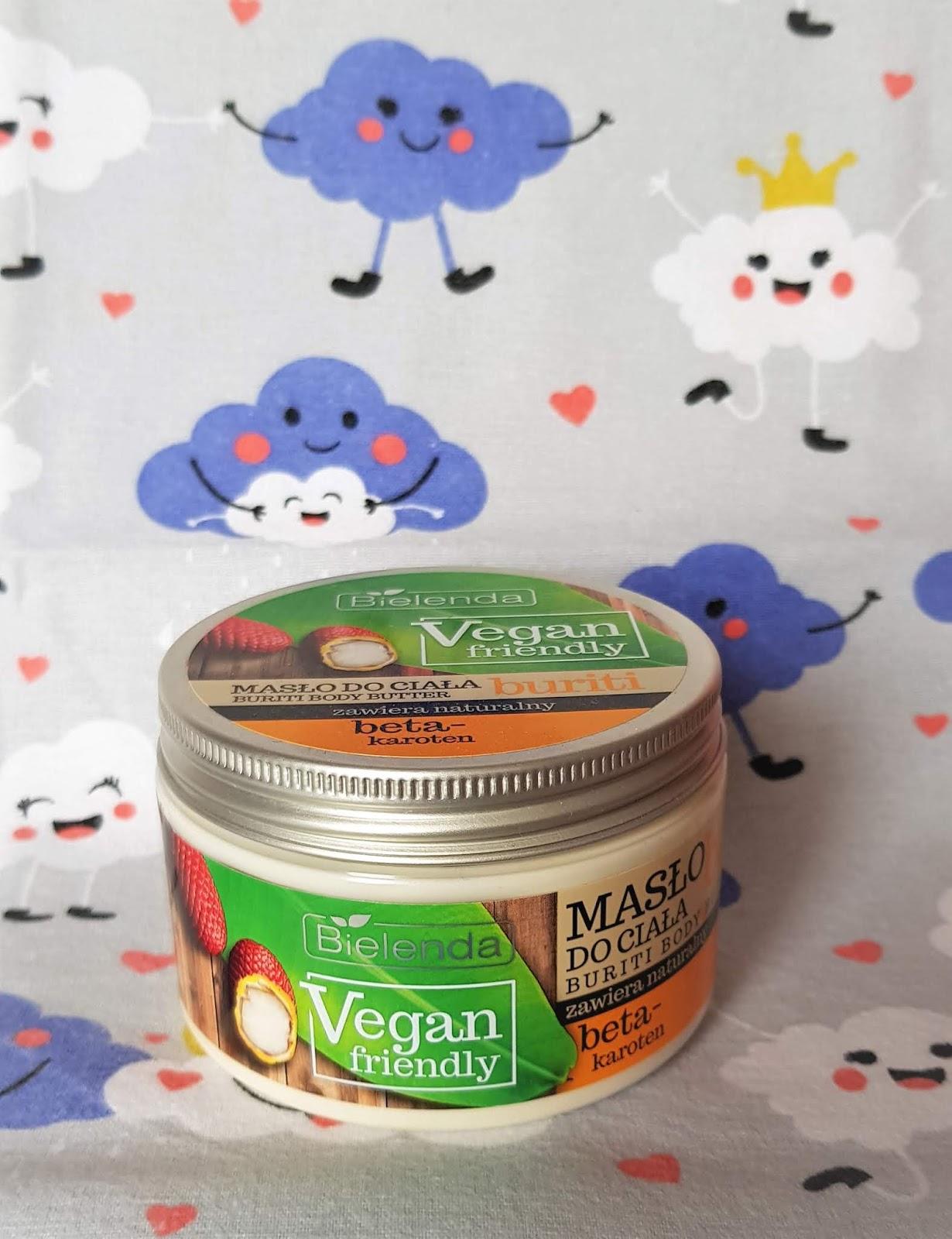 Bielenda vegan friendly masło do ciała buriti