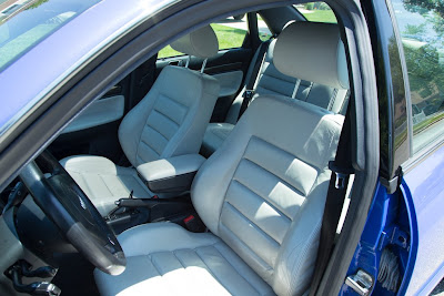 Audi S4 Leather Seats
