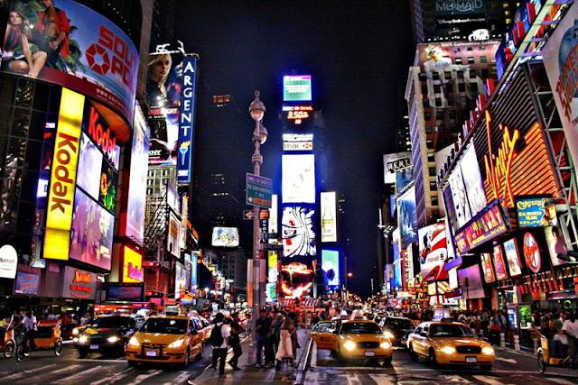 ميدان تايمز سكوير في نيويورك Times Square