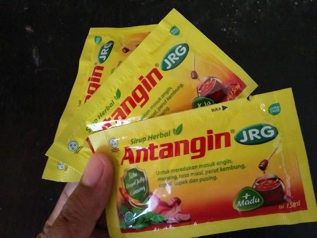 Antangin, salah satu pilihan obat herbal di Indonesia;Tips Mengonsumsi Obat Herbal;Tips Memilih dan Mengonsumsi Obat Herbal;