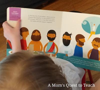 child reading Jesus Rose for Me