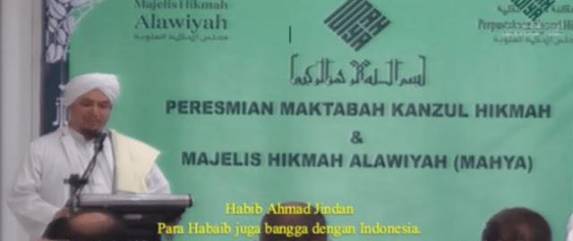 Habib Ahmad Jindan Samakan Indonesia Seperti Kota Madinah