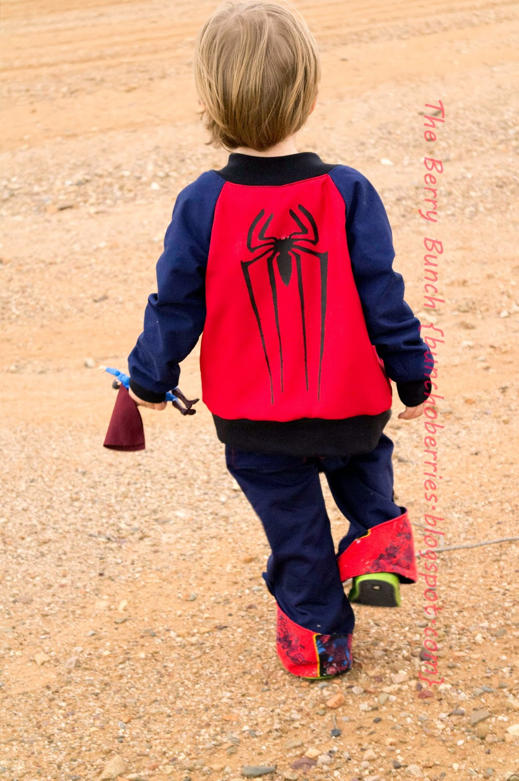 The Berry Bunch: Bundle Up for Boys: Spiderman
