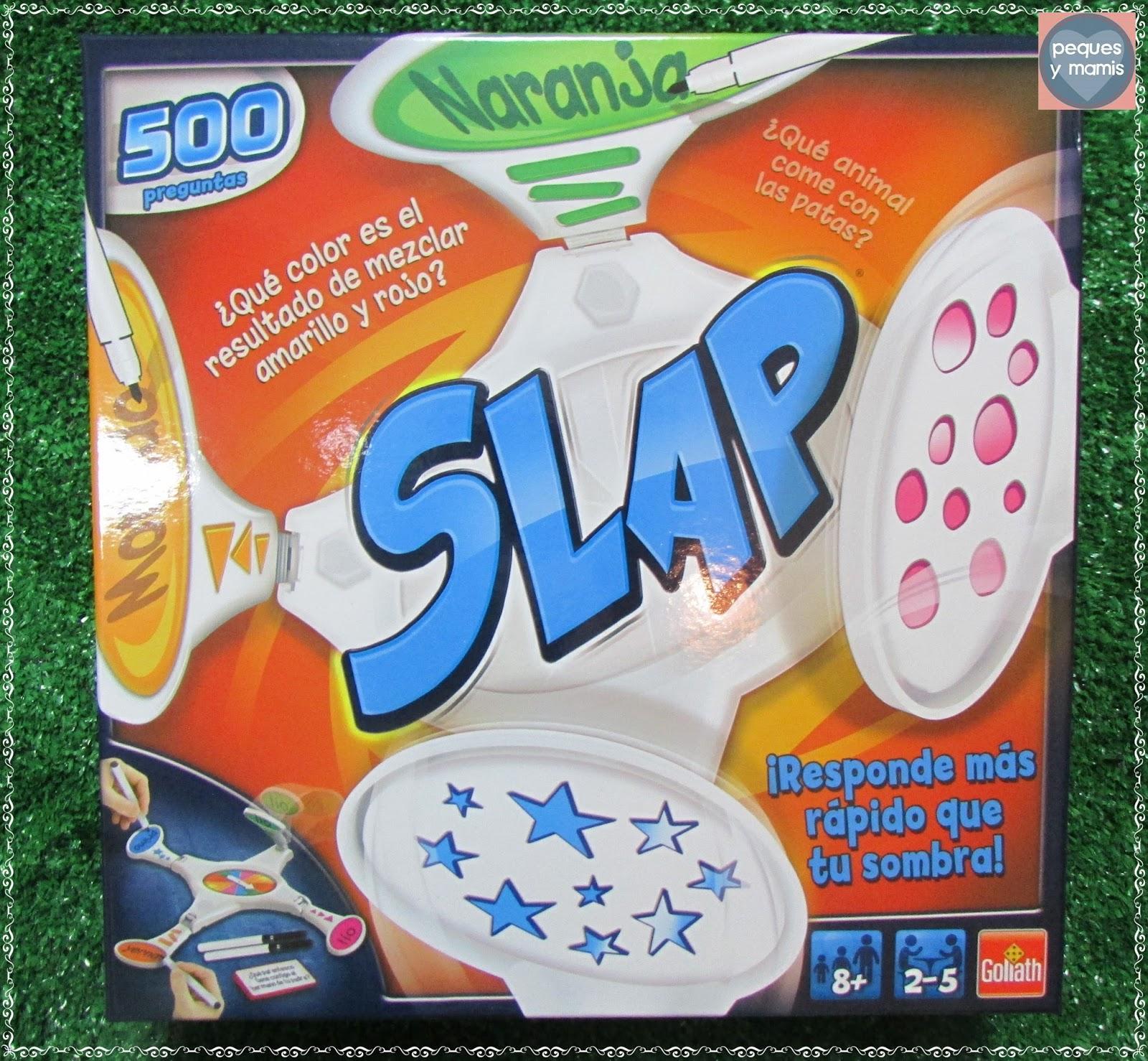 Pequesymamis juegos de mesa diversi n en familia for Slap juego de mesa