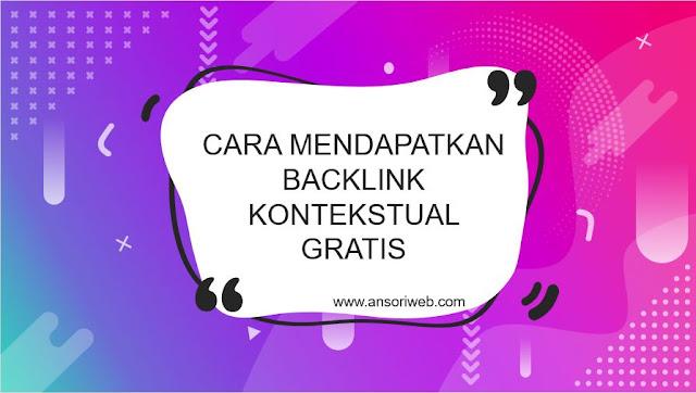 Cara Mendapatkan Backlink Kontekstual Gratis di forumblogger.my.id