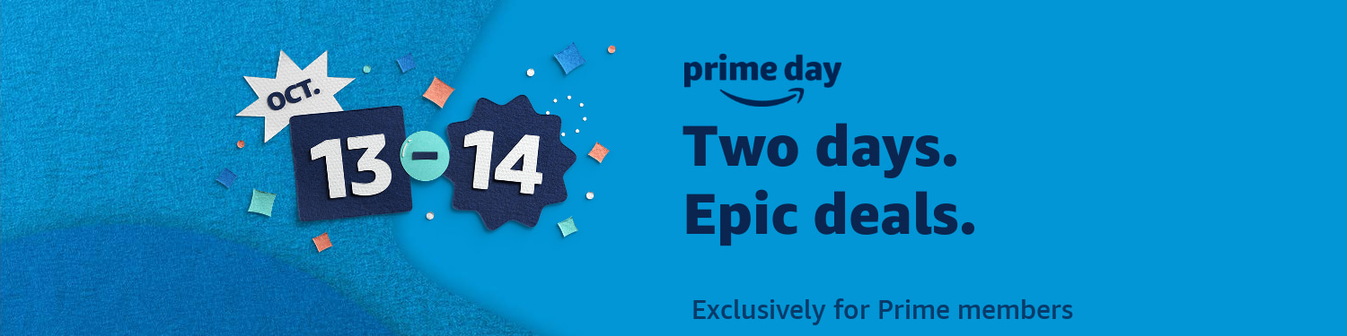 Amazon Prime day 2020 October 13-14