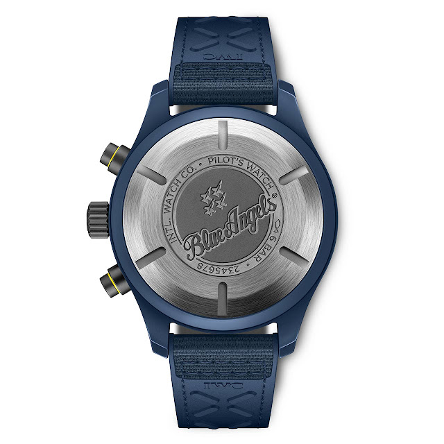 """IWC Pilot's Watch Chronograph Edition """"Blue Angels"""" (ref. IW389109)"""