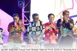 Nurdin Abdullah Tutup Iven Wisata Festival Pinisi 2019 di Tanjung Bira