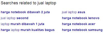 google related search