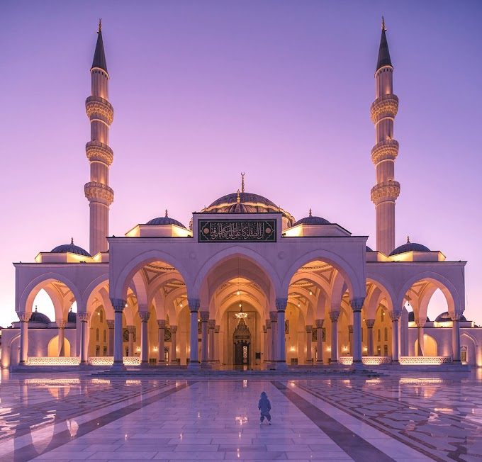 Sharjah Mosque, UAE