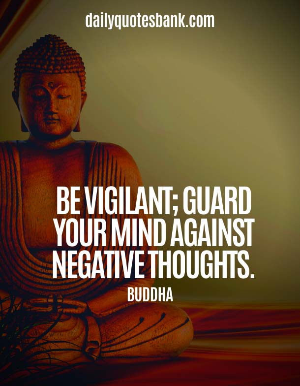 Buddha Quotes On Changing Yourself in Mind Though