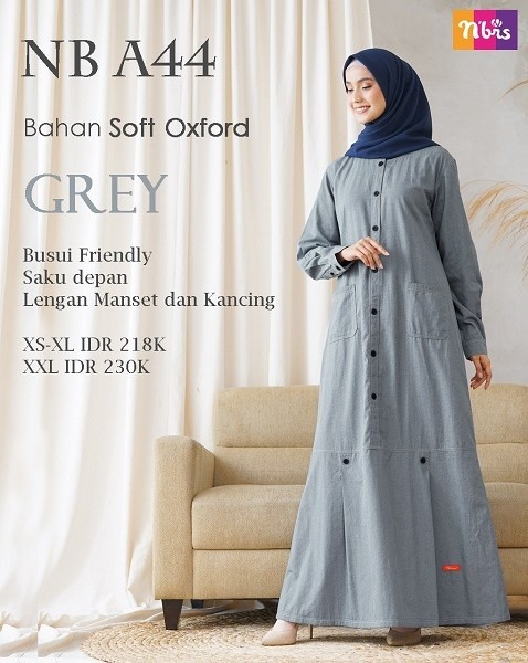 Gamis Nibras NB A44