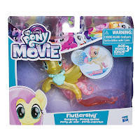 My Little Pony Movie Land and Sea Fashion Seapony Brushable Fluttershy