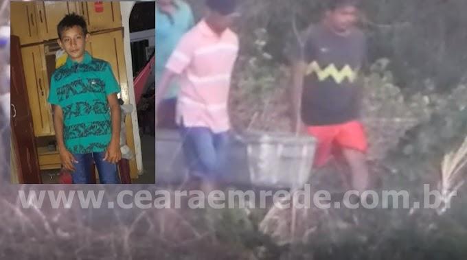 Bombeiros encontram corpo do menino Caio desaparecido em Sobral